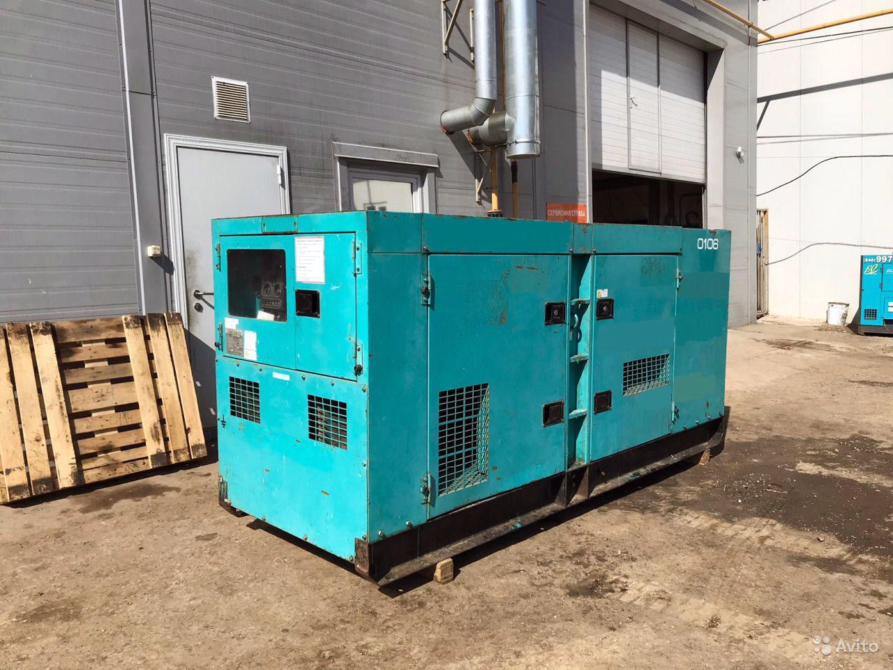 Аренда дизель генератора 90 кВт под ключ