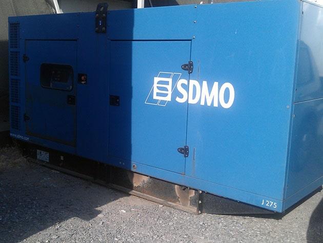 Аренда дизель генератора 650 кВт под ключ