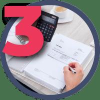 Этап 3 - Выставление счета