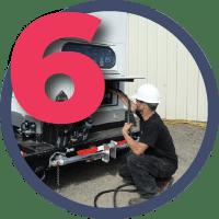 Этап 6 - Доставка и подключение ДЭС