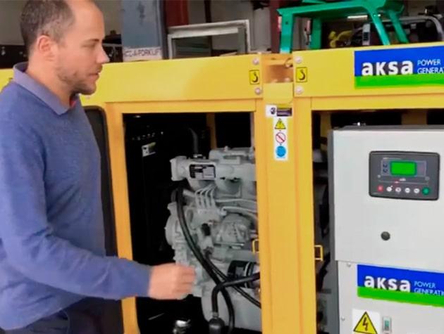 Ремонт электрогенераторов AKSA в Москве и Московской области