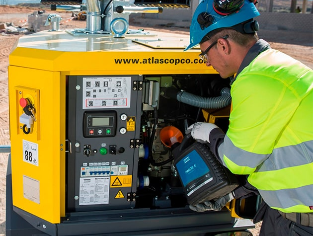 Техническое обслуживание Atlas Copco