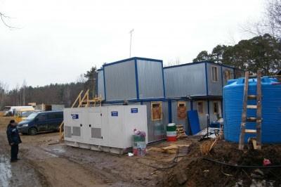 Электроснабжение для небольшой стройплощадки